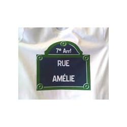 Tshirt rue Amélie Paris 75007