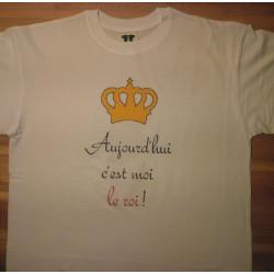 """Légende : T-shirt """"Galette des rois"""""""