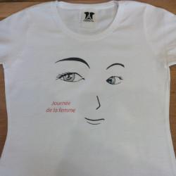 """Tshirt """"journée de la femme"""""""