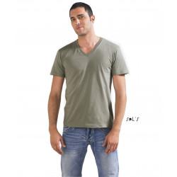 Tshirt homme col en V